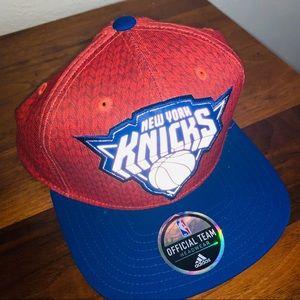 NWT Adidas New York Knick's SnapBack Hat